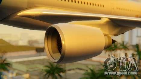 Airbus A330 TAROM Romania para la visión correcta GTA San Andreas