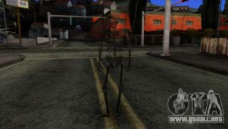 Skeleton Skin v3 para GTA San Andreas tercera pantalla