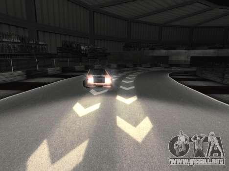 Nuevas texturas de la pista 8 Pista para GTA San Andreas segunda pantalla