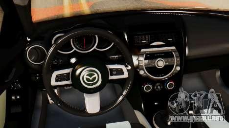 Mazda RX8 Drifter para la visión correcta GTA San Andreas