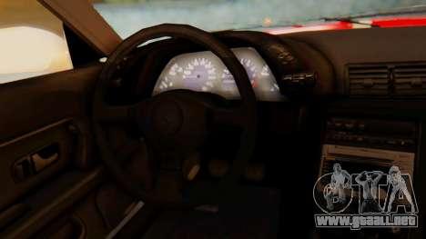 Nissan Skyline R32 Monster para la visión correcta GTA San Andreas