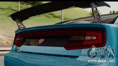 GTA 5 Bravado Buffalo S Sprunk IVF para GTA San Andreas vista posterior izquierda