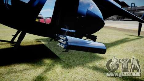 Buzzard from GTA 5 para GTA 4 visión correcta