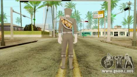 Power Rangers Skin 3 para GTA San Andreas segunda pantalla