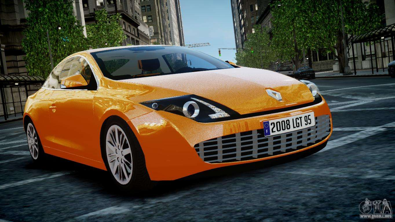renault laguna coupe para gta 4. Black Bedroom Furniture Sets. Home Design Ideas