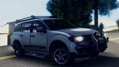 Mitsubishi Pajero 2014 Sport Dakar Offroad para GTA San Andreas