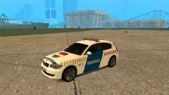BMW 120i E87 Policía húngara