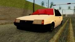 VAZ 2108 hatchback de 3 puertas para GTA San Andreas