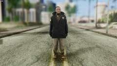 Snowcop Skin from GTA 5 para GTA San Andreas