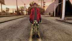 New Homeless Skin para GTA San Andreas