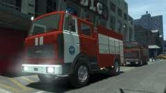 MAZ 533702 de EMERCOM de Rusia para GTA 4
