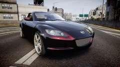 Mazda RX-8 2006 v3.2 Pirelli tires para GTA 4