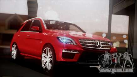 Mercedes-Benz ML 63 AMG 2014 para GTA San Andreas