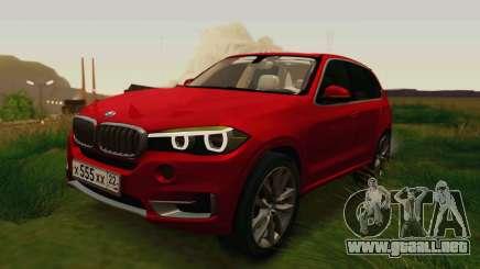 BMW X5 F15 2014 para GTA San Andreas