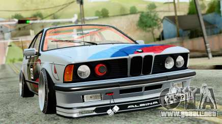 BMW M635CSi E24 1984 para GTA San Andreas