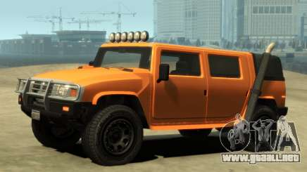 Mammoth Patriot Pickup v2 para GTA 4