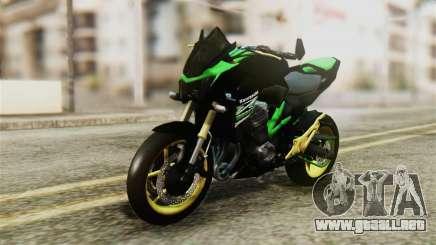 Kawasaki Z800 Modified para GTA San Andreas
