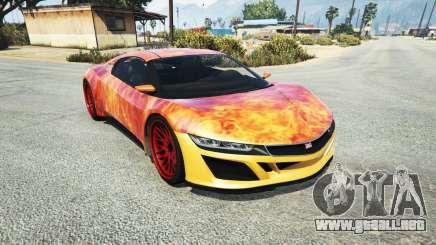 Dinka Jester (Racecar) Flame para GTA 5