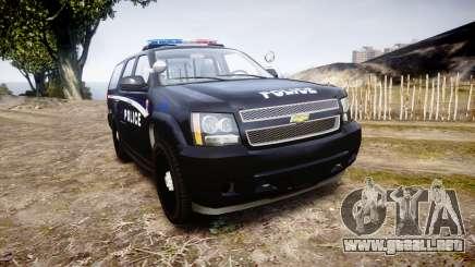 Chevrolet Tahoe SPVQ [ELS] para GTA 4