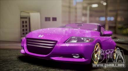 Honda CRZ Hybird Pink Cute para GTA San Andreas