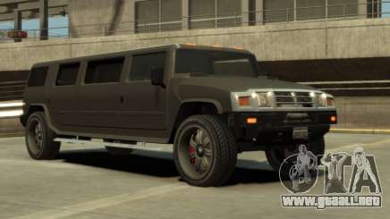 Mammoth Patriot Limousine para GTA 4