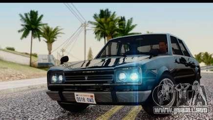 GTA 5 Vulcar Warrener IVF para GTA San Andreas