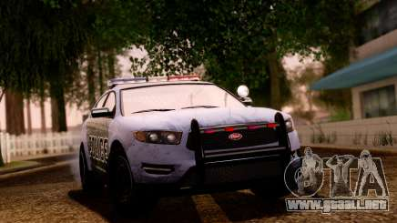 GTA 5 Vapid Police Interceptor v2 SA Style para GTA San Andreas