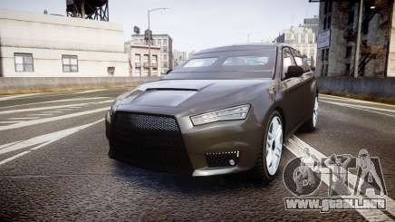 GTA V Karin Kuruma Armored gloss paint para GTA 4