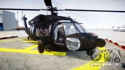 Sikorsky MH-60L Black Hawk [EPM] para GTA 4