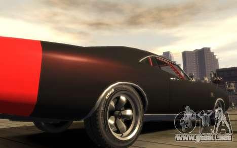 Dukes Impulse Daytona Tuning para GTA 4 vista hacia atrás