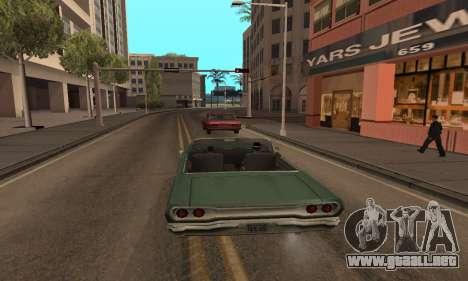 Aumentar el rango de vectorización para GTA San Andreas sucesivamente de pantalla