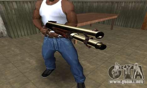 Very Big Shotgun para GTA San Andreas segunda pantalla