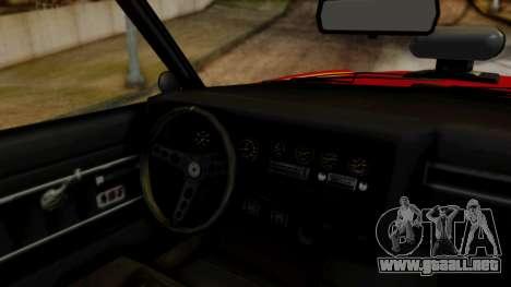 GTA 5 Albany Virgo para GTA San Andreas vista hacia atrás