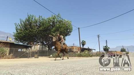 GTA 5 Ride A Deer [.NET] 0.2b cuarto captura de pantalla