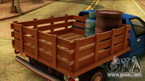 Premier Country Pickup para la visión correcta GTA San Andreas