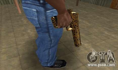 Microshem Deagle para GTA San Andreas