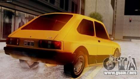 Fiat 147 Al Piso para GTA San Andreas left