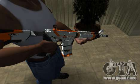 M4 Asiimov para GTA San Andreas