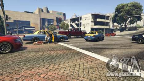 GTA 5 Police Chase Random Event tercera captura de pantalla
