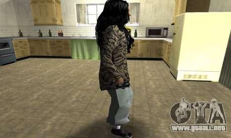 Cool Tokio Girl para GTA San Andreas segunda pantalla