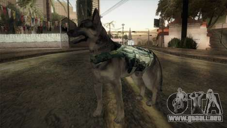 COD Ghosts - Riley Skin para GTA San Andreas segunda pantalla