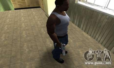 Flowers Deagle para GTA San Andreas tercera pantalla