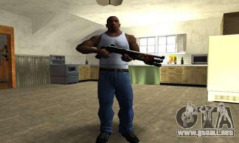 Flame Shotgun para GTA San Andreas tercera pantalla