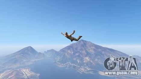 GTA 5 Superhero segunda captura de pantalla