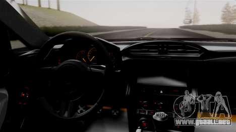 Toyota GT86 PJ para la visión correcta GTA San Andreas