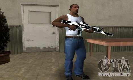 Two Lines M4 para GTA San Andreas segunda pantalla