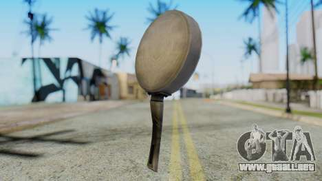 Frying Pan from Silent Hill Downpour para GTA San Andreas segunda pantalla