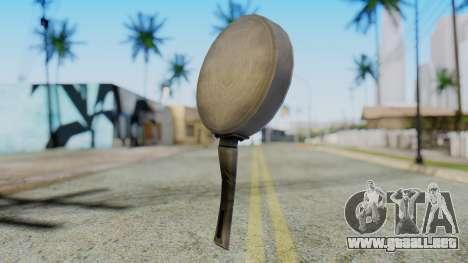 Frying Pan from Silent Hill Downpour para GTA San Andreas segunda pantalla