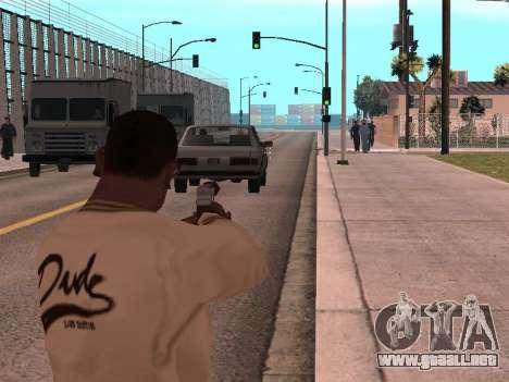 Cleo Weapon Zoom para GTA San Andreas segunda pantalla
