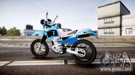 Honda XR 200 para GTA 4 left